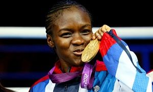 Olympic athletes launch 'Join In' weekend of sport to get nation moving Pic: Gold medalist Nicola Adams