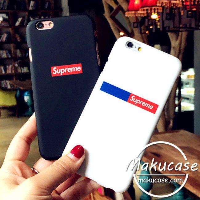 シュプリーム iphone7ケース iphone7plusケースカップル用アイフォン7ケース Supreme ブラック iphone6s plusケース ホワイト アイホン7プラスケース ペア iphone携帯ケース