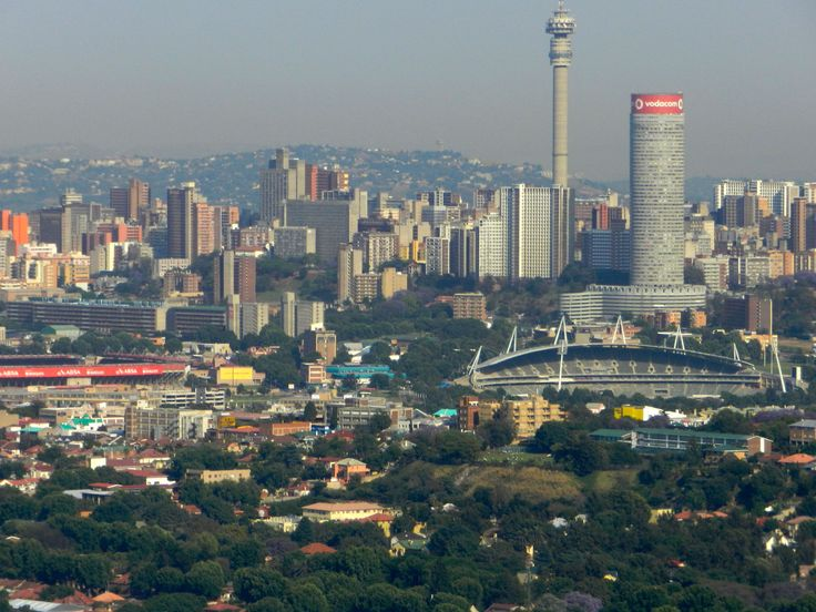 Hello from South Africa, Johannesburg.