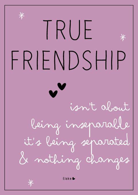 true friendship | Prints en Posters by Elske - Friendship ...