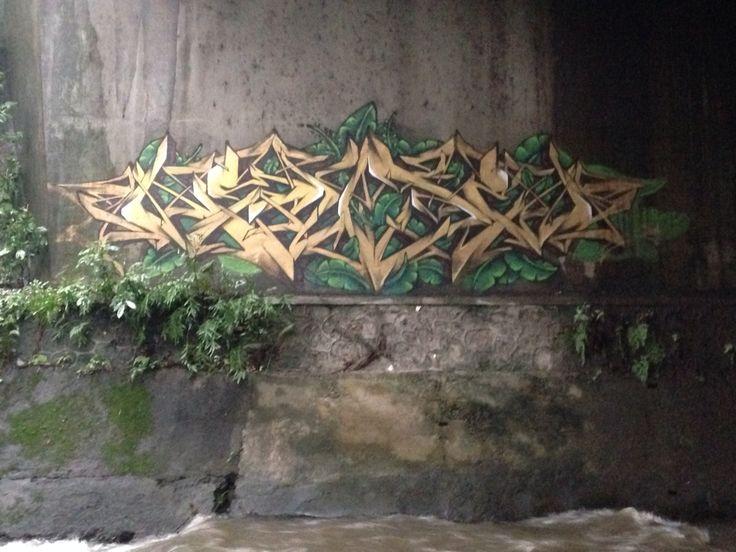 Hidden wall yogyakarta