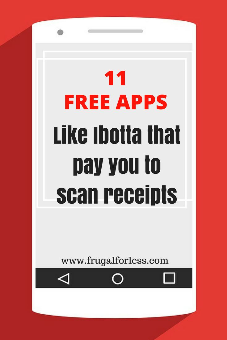 Read on for 11 free apps like Ibotta that pay you to scan receipts. Frugal Living | Save Money on Groceries | Money Making Apps | Cash Back Apps | Make Money Online | Side Hustle | Make Money Fast | Make Money From Home.