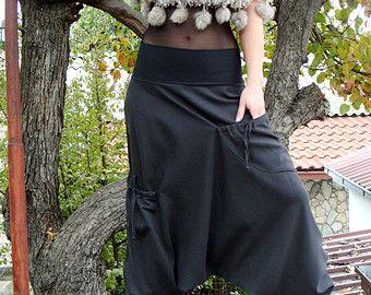 Bat des ailes  Sarouel  Sarouel  pantalon Hippie pantalon