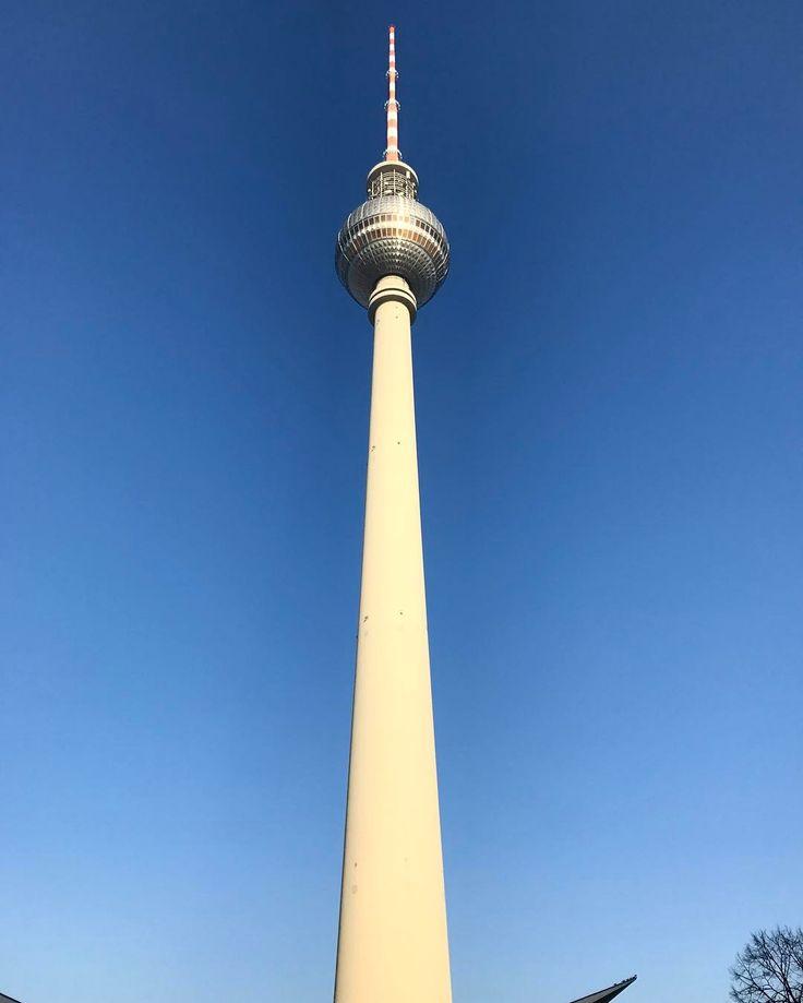Berliner Fernsehturm #berlin