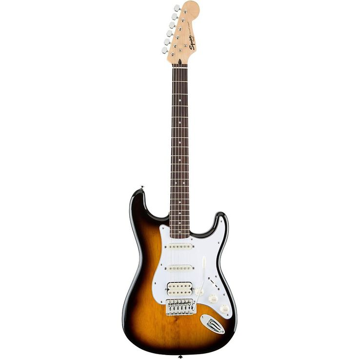 Squier Bullet Strat with Tremolo HSS 2-Color Burst Rosewood Fingerboard