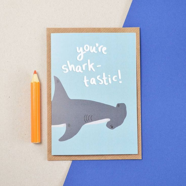 It's Friday! Hope you're day is shark-tastic!