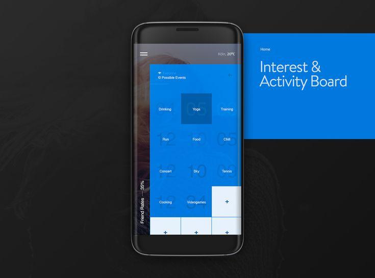 Deew Social App on Behance