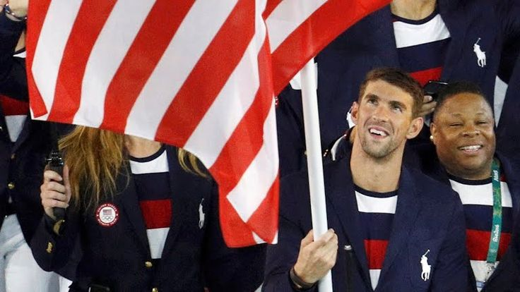 Led by Michael Phelps, U.S. men win gold in 400 freestyle relay