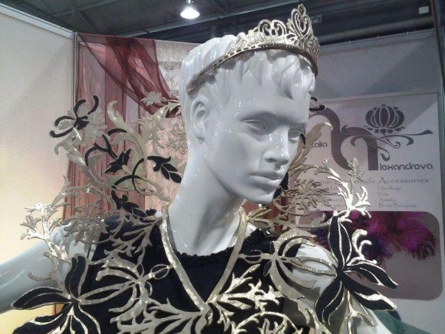 Designer accessories Natalia Alexandrova on the Durban Fashion Fair 2015
