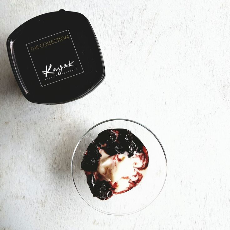 Kayak Ice Cream with Sweet Cherries. Pure Magic! https://www.facebook.com/KAYAK.PureMagic/