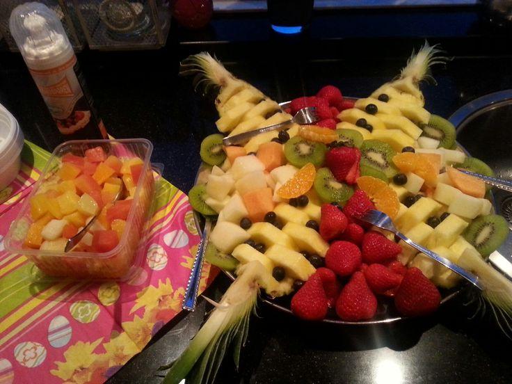 Fruitsalade gemaakt door de Vitaminebron