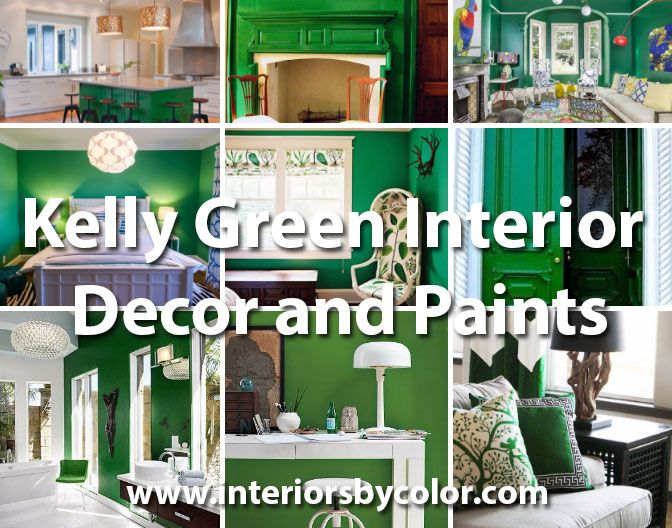 Kelly Green Interior Decor And Paints Paint Colors Pinterest
