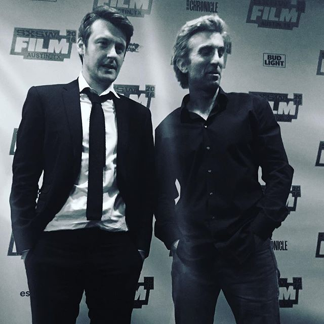Ilya Naishuller and Sharlto Copley Hardcore Henry US premiere