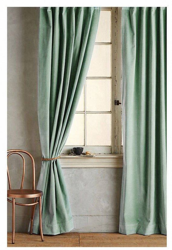 Mint Green Bedroom Curtains