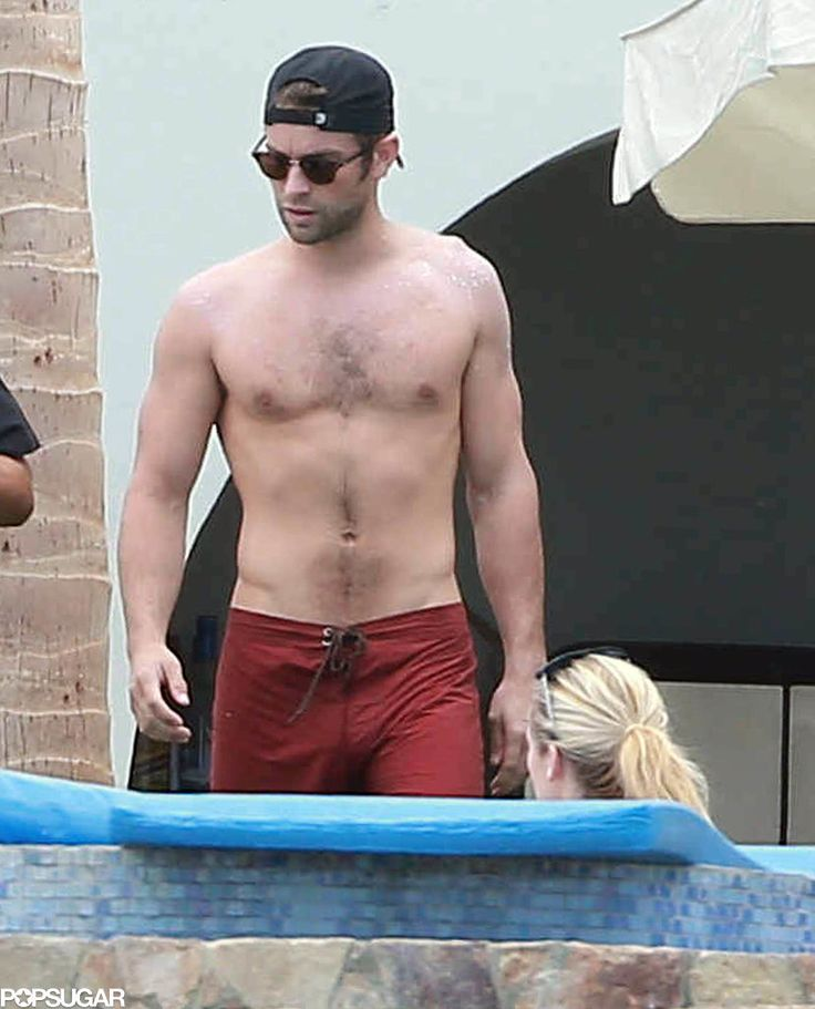 Shirtless Chace Crawford With Tony Romo in Mexico May 2015 | POPSUGAR Celebrity