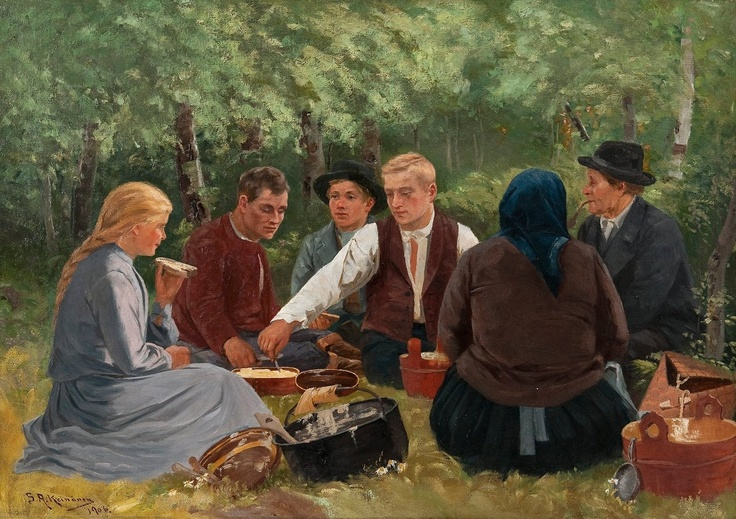Matrast Sigfrid August Keinänen oil 1906