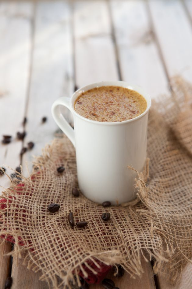 Pumpkin spice rocket fuel latte #dairyfree #keto #hflc #keto #highfat #paleo