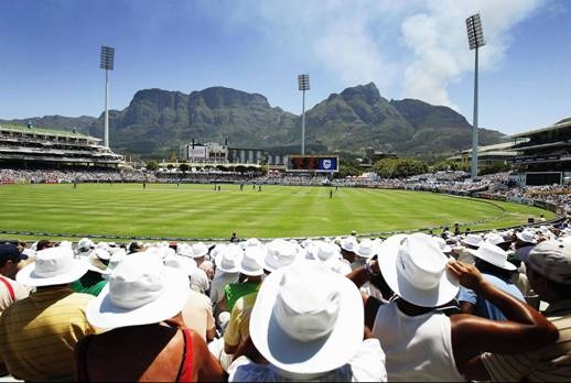 Newlands Cricket Grounds ... where in the world can you watch cricket with a view like that and the place to be this summer!