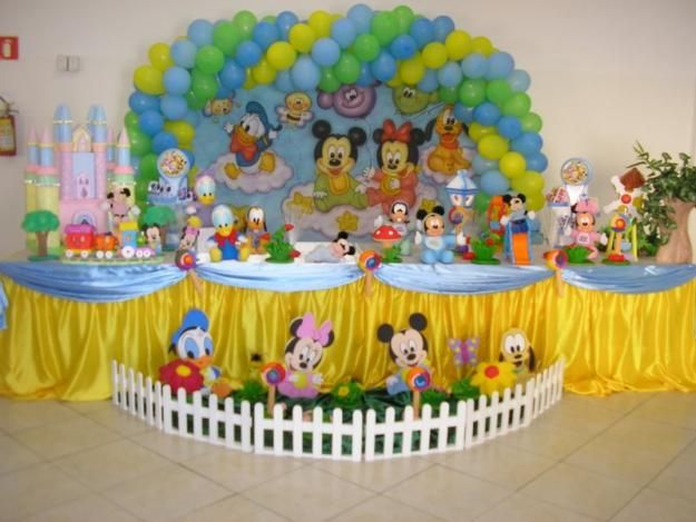 Disney Party Theme for Kids Babies