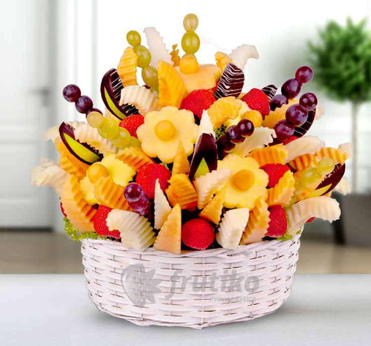 Nameday wish from tasty fruits