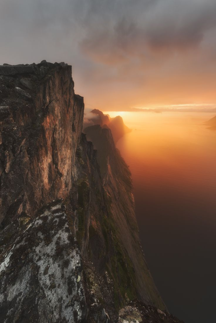 Edge Of The World - Senja, Norway Experience spectacular natural beauty around the world! TravelingUnleashed.com (Outdoor Wood Wanderlust)