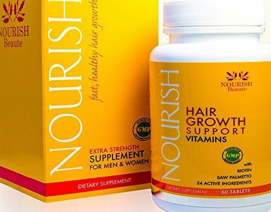 Nourish Beaute Biotin Hair Growth Vitamins With Powerful DHT Blockers- Guaranteed Results to Reduce Loss and Improv No description (Barcode EAN = 0784672095211). http://www.comparestoreprices.co.uk/december-2016-week-1-b/nourish-beaute-biotin-hair-growth-vitamins-with-powerful-dht-blockers-guaranteed-results-to-reduce-loss-and-improv.asp