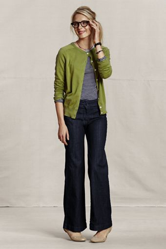 Nice easy look, Trouser Jeans. Lands end but already have jeans like this from elsewhere.