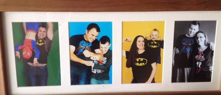 Awesome super heroes family photo shoot