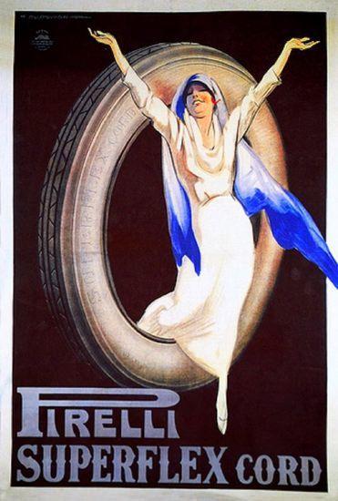 Pirelli ~ Marcello Dudovich