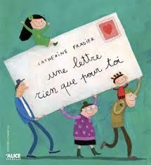 Ecrire une lettre, letter writing in French