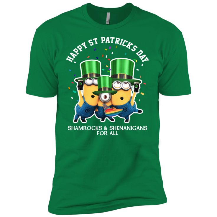 Minions Shenanigans St Patricks Day Clothing St Patrick's Day Shirts  Hoodies For Women And Men Perfect