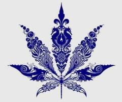 im not big on showin off the pot leaf thing but this is a really unique and pretty one...i keep finding more images in it i like!!!