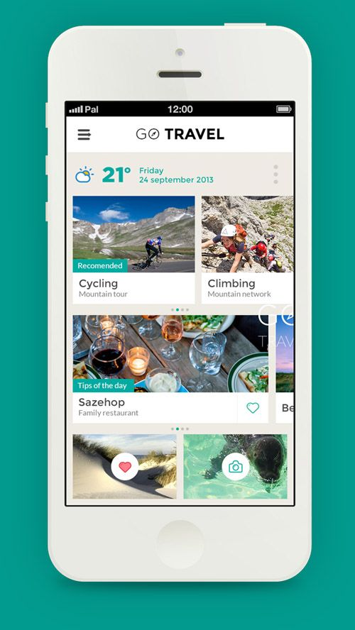 Flat Mobile UI Design and UX-45