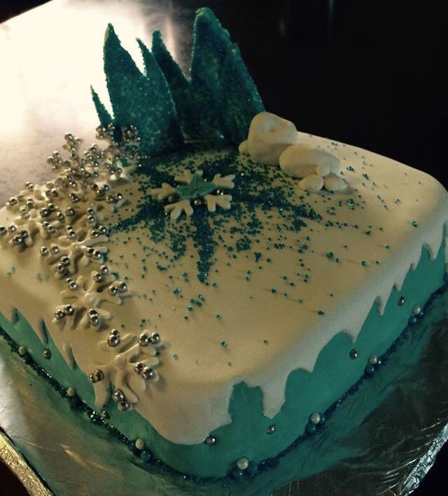 Yasi's 3rd frozen cake By:3sagroom