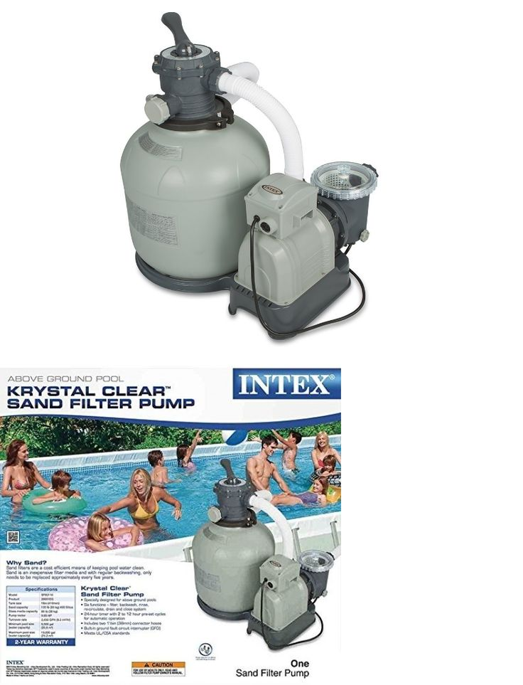 Pool Pumps 181485: Swimming Pool Sand Filter Pump For Above Ground Pools, 3000 Gph Pump Flow -> BUY IT NOW ONLY: $209 on eBay!