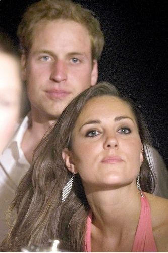 prince william & catherina middleton..he has his mom's eyes and look..his brother looks like their dad..