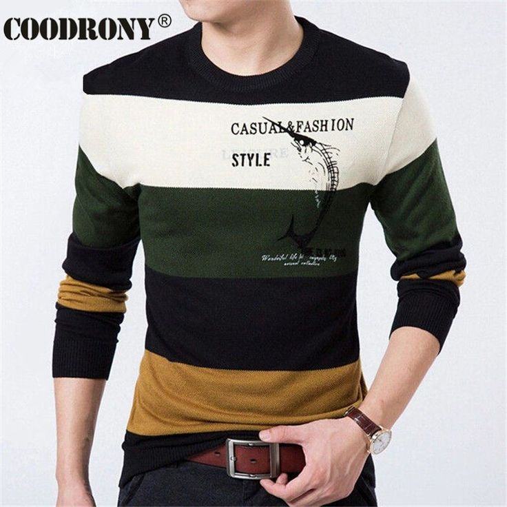 Fish Printed Pullover Men Brand Sweater Men 2016 Cashmere Clothing Striped Long Sleeve Mens Sweaters Wool Pull Homme Fashion Man     Tag a friend who would love this!     FREE Shipping Worldwide     Get it here ---> https://onesourcetrendz.com/shop/all-categories/mens-clothing/mens-sweaters-cardigans/fish-printed-pullover-men-brand-sweater-men-2016-cashmere-clothing-striped-long-sleeve-mens-sweaters-wool-pull-homme-fashion-man/