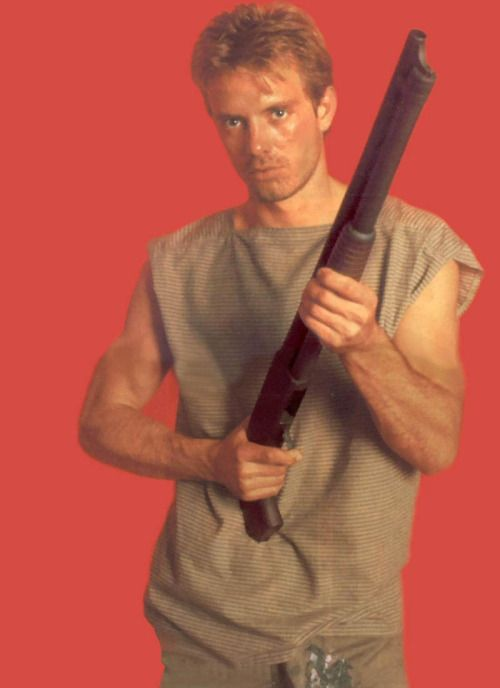 "Kyle Reese played by Michael Biehn in the 1984 action/sci-fi bonafide blockbuster, ""The Terminator."""