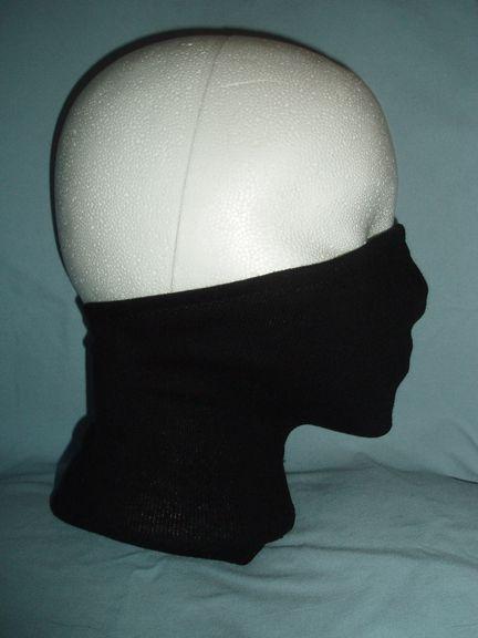 Terribly Unfashionable: Tales of a Geeky Librarian: Last minute Halloween costume - Kakashi / ninja mask pattern