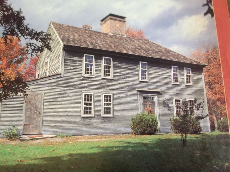 17 best images about historic colonial new england saltbox for New england colonies houses