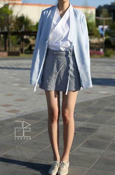 #생활한복 #modernHanbok #dailyhanbok #koreanclothes #leesle