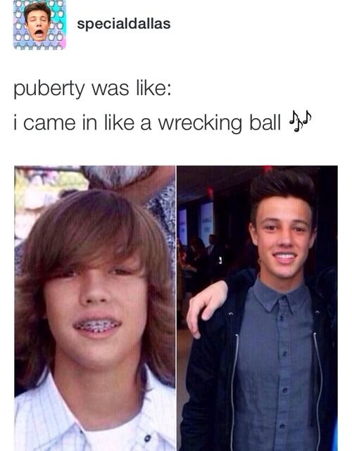 Okay....I hope puberty hits me as hard as it hit cameron...that sounds weird but u know what I mean
