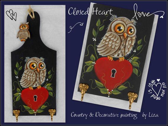 E-pattern : Closed Heart by Liza Design