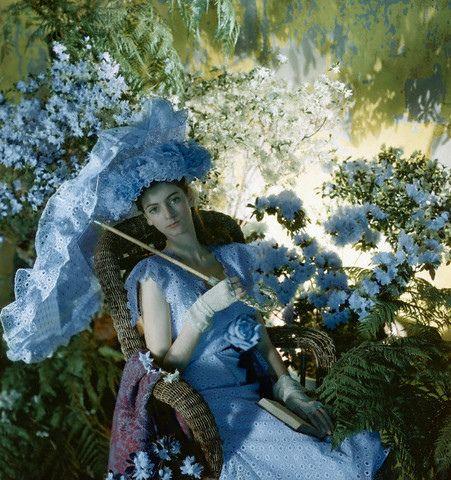 Carmen Dell'Orefice 1946:    Photographer - Cecil Beaton