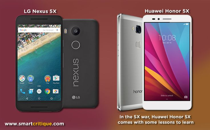 At CES 2016, Huawei launched its device Huawei Honor 5X in US for the first time. Smart Critique does a comparative review of Honor 5X and LG's Nexus 5X.