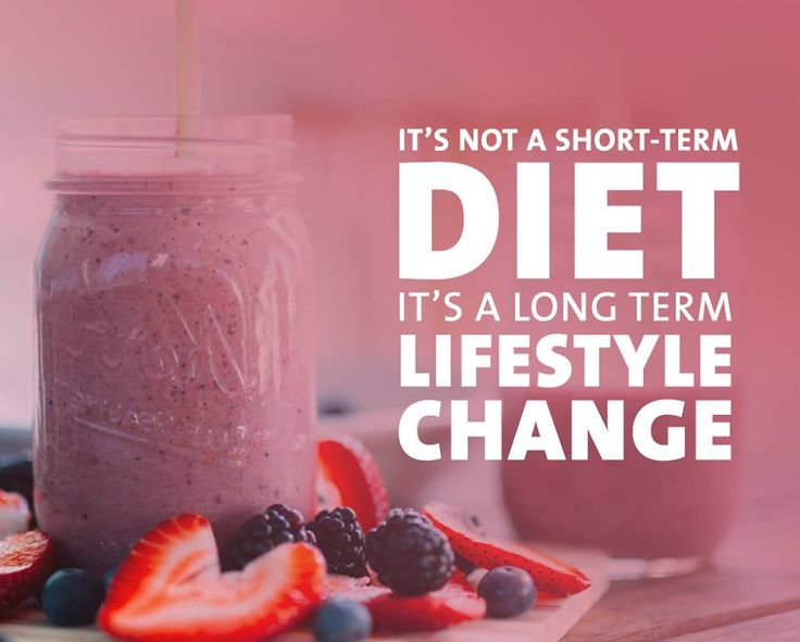 how to go from a diet to a life style