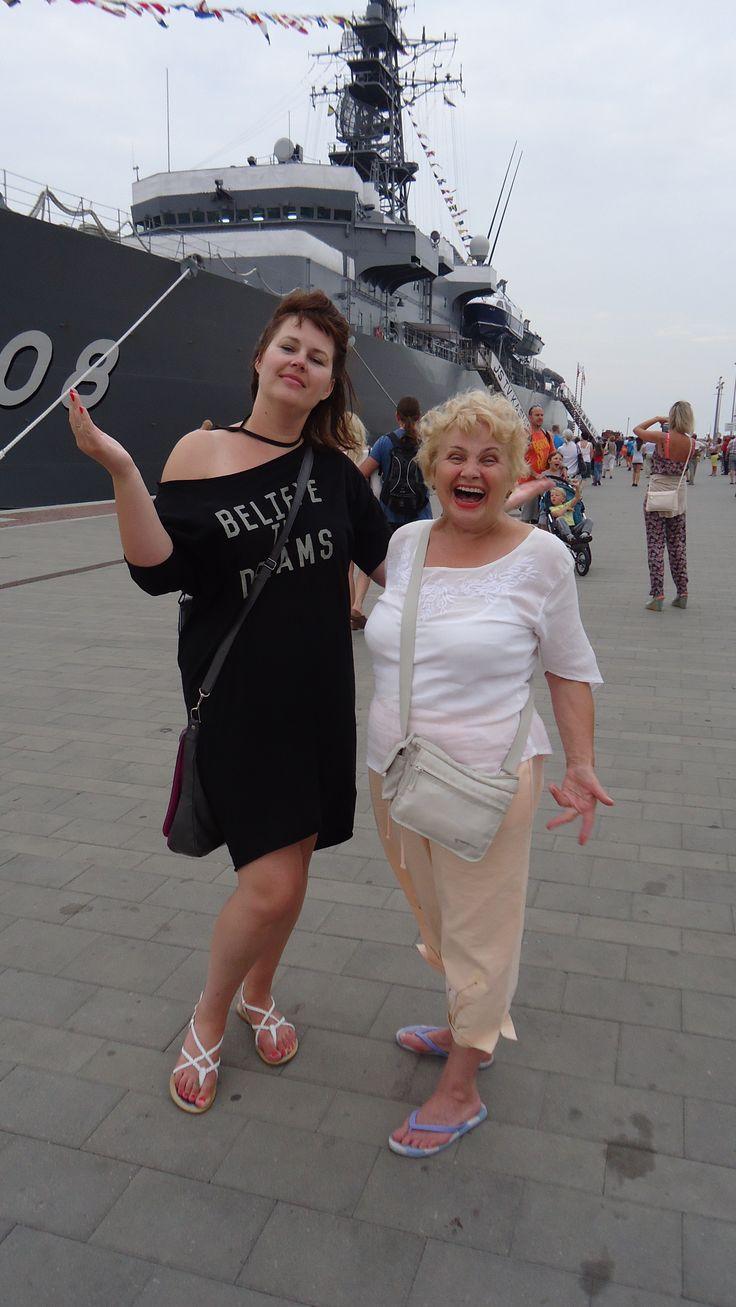 in Gdynia with #olgaszwajgier