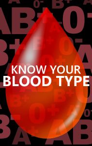 DO THIS! The most common blood type in the world is O+ and you should carry their type with them at all times in case of a medical emergency.
