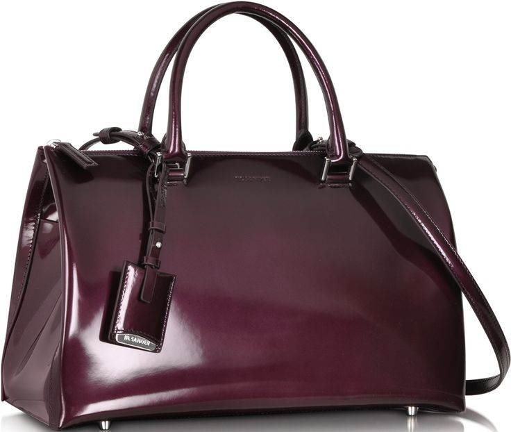 •Website: http://www.cuteandstylishbags.com/portfolio/jil-sander-purple-patent-leather-medium-jil-bag/ •Bag: Jil Sander Purple Patent Leather Medium Jil Bag
