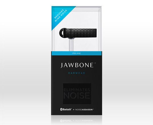Sample Jawbone Packaging Design Layout